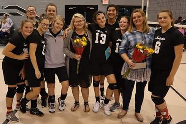 Girls volleyball photo